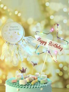 عيد الرعبنجمة كعكة توبر عيد ميلاد سعيد زينة الحزب