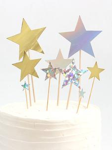 عيد الرعبكعكة توبر نجوم عيد ميلاد الحزب الاوسمه