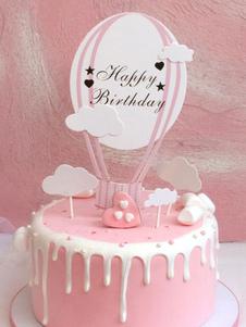 عيد الرعبكعكة عيد ميلاد القبعات زينة الحزب