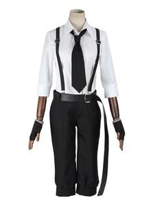 Бунго бродячих собак Накадзима Atsushi косплей костюм Хэллоуин