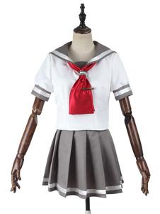 الحب لايف! تاكامي تشيكا Aqours تأثيري زي الصيف بحار المدرسة الموحدة هالوين