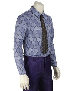 Batman The Dark Knight Joker Cosplay Shirt Camisa de algodão de algodão Top Halloween