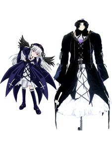 Disfraz Carnaval Traje de Suigintou para cosplay de Rozen Maiden Halloween Carnaval