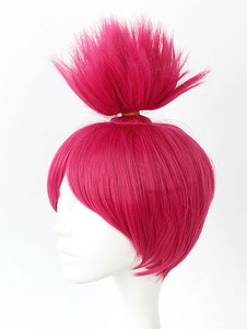Тролли Disney Принцесса мака косплей парик Хэллоуин