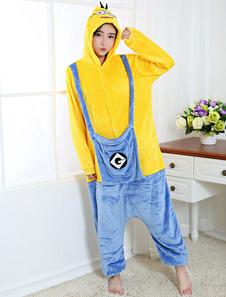 Disfraz Carnaval Disfraz de Kigurumi Adulto Cosplay estilo unisex para adultos amarillo Halloween Carnaval
