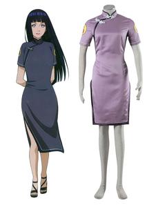 Costume Carnevale Naruto Hinata Hyuga Cosplay Costume cinese stile Costume