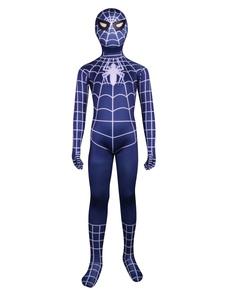 Хэллоуин унисекс мульти цвет лайкра Spiderman тела Зентаи костюмы Хэллоуин