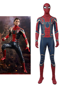 Carnevale Costume Cosplay Halloween 2020 Edizione Deluxe Avengers 3 Spiderman Peter Parker