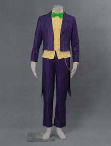 Batman Arkham Asylum Joker Halloween Cosplay Costume Хэллоуин
