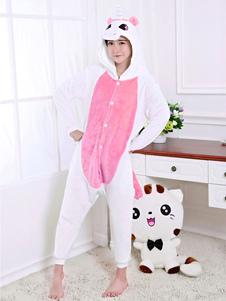 Disfraz Carnaval Disfraz de Kigurumi Adulto rosa Unicornio para Halloween estilo unisex para adultos Halloween Carnaval
