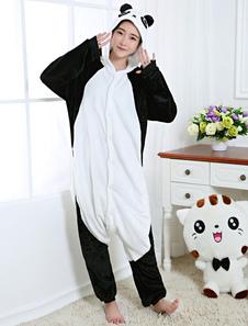 Disfraz Carnaval Disfraz de Kigurumi Adulto de oso panda estilo unisex para adultos blanco Halloween Carnaval
