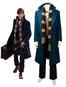 Fantastic Beasts E Where To Find Them Newt Scamander Cosplay Costume Eddie Redmayne Costume Halloween 2020