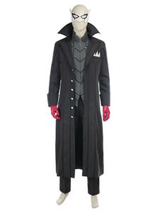 Персонаж 5 Протагонист Акира Курусу Хэллоуин Косплей Костюм Хэллоуин