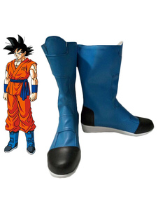 Sapatos de Cosplay Dragon Ball filho Goku de Kakarotto Halloween