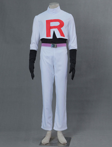 Carnaval Pokemon Team Rocket James Disfraz de Halloween Cosplay