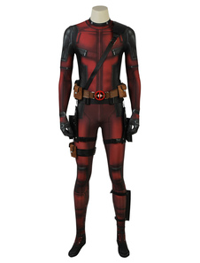 Carnaval Deadpool 2 Wade Wilson Disfraz de Cosplay de Halloween 2020 Disfraz de Marvel Comics Movie