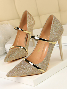 Glitter Party Shoes Women Prom Shoes Shoes