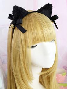 Sweet Lolita Hair Clasp Accessorio per capelli Lolita nero