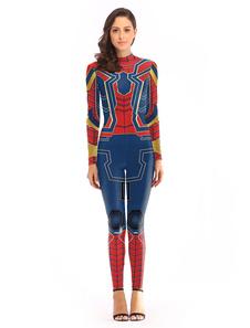 Homem aranha halloween cosplay jumpsuit traje cosplay das mulheres