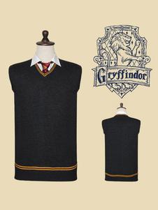 Carnevale Harry Potter Costume Cosplay Maglia Maglione Tassorosso Corvonero Serpeverde Grifondoro Top Halloween