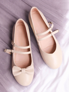 Zapatos Sweet Lolita Pump Bow Strappy PU Lolita