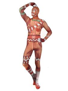 Costume Carnevale Costumi di Halloween Costumi di Spandex in lycra per la battaglia di Fortnite Merry Marauder