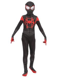Costumi per bambini Spiderman Costume di Halloween in Lycra Spandex
