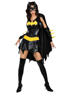 Costume Carnevale Batman Costume Halloween Women Superhero Outfit