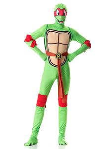 Costume Carnevale Outfit per uomini di Halloween in Costume da Tartarughe Ninja