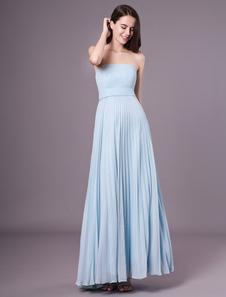 A linha Sage Chiffon vestido de dama de honra maternidade com cintura império