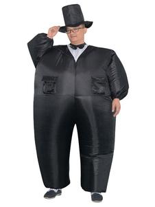 Disfraz Carnaval Disfraz inflable de Halloween 2020 conjunto de novio para adultos trajes unisex Carnaval