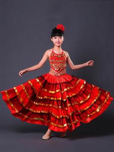 Costume Carnevale Costumi da Ballo Paso Doble 2020 Costume da flamenco da ragazza spagnola Costume da corrida spagnolo  Costume Carnevale