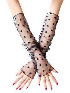 Длинные перчатки Демона Труп Невеста Костюм Аксессуары Хэллоуин