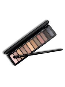 Sombra de ojos de mujer 12 colores que no florecen fácilmente Aplique cosméticos para fiestas