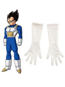 Carnaval Dragonball Z Cosplay Prop Vegeta Super Saiyan Fighting Anime Cosplay Gloves Halloween