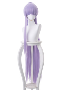 Carnevale Lilac Anime Wig Fate Grand Order Meltlilith Ponytail Gioco Parrucche Cosplay Halloween