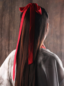 Accessori per capelli Han Lolita in tinta unita stile cinese
