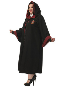 عيد الرعبازياء هالوين الأسود هاري بوتر هوجورتس ثوب زين 2 قطعة الأعياد الأزياء