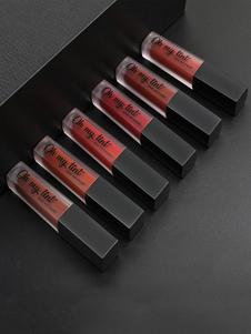 長続きがする女性のための口紅は容易に無光沢の偶然4色を適用します