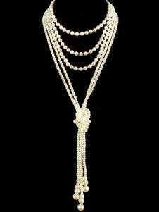 Accessori per abiti da flapper con accessori Great Gatsby degli anni '20