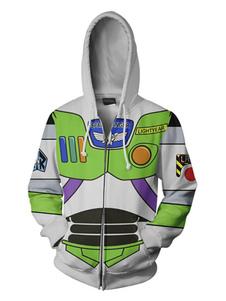 Toy Story 4 Buzz Buzz Lightyear Аниме Толстовка Disney Аниме Товары