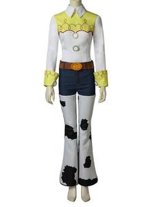История игрушек 4 Косплей Джесси Уайт 5 шт. Набор фильмов Disney Cartoon Косплей
