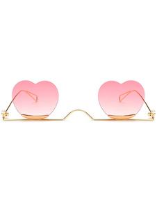 Sweet Lolita Occhiali a forma di cuore Accessori Lolita