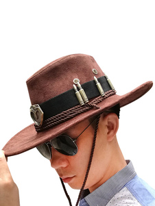 Overwatch Anime Hats Mccree Wool Cowboy Hat