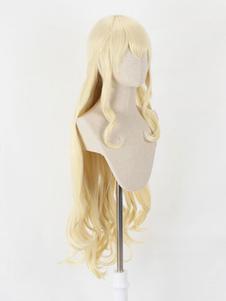 Слоновой кости косплей парик убийца гоблин парик жрица косплей парики