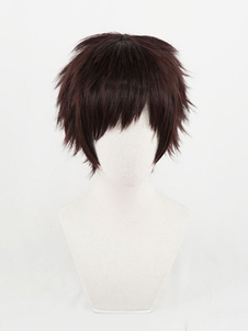 Темно-коричневый парик косплей мой герой академический парик чисаки кай капитальный ремонт парики косплей