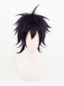 Коричневый черный косплей парик JoJo's Bizarre Adventure Narancia Ghirga Cosplay Wigs