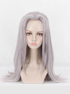 Светло-серый парик для косплея Причудливые приключения JoJo's Leone Abbacchio Косплэй парики