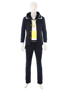 Disfraz Carnaval Vocaloid Cosplay traje negro Kagamine Len Cosplay Set Carnaval
