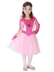 أطفال سبايدرمان تأثيري العنكبوت فستان العين التصحيح ليكرا دنة الاطفال تأثيري ازياء